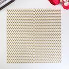Ацетатный лист с глиттерным напылением Crate Paper - Heritage