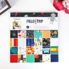Набор бумаги для скрапбукинга Shimelle - Коллекция «Field Trip» - 30.5х30.5 см