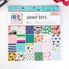 Набор бумаги Crate Paper - SunnyDays 30.5x30.5 см
