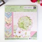 Набор бумаги Floral - K&Company - 30.5х30.5 см - 28 листов