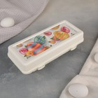 Контейнер для яиц 25×10,5×6,5 см, 10 ячеек, цвет МИКС