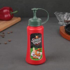 Ёмкость для соуса 350 мл, цвет красный
