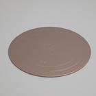 Подложка усиленная, кофе, 26 см, 3,2 мм