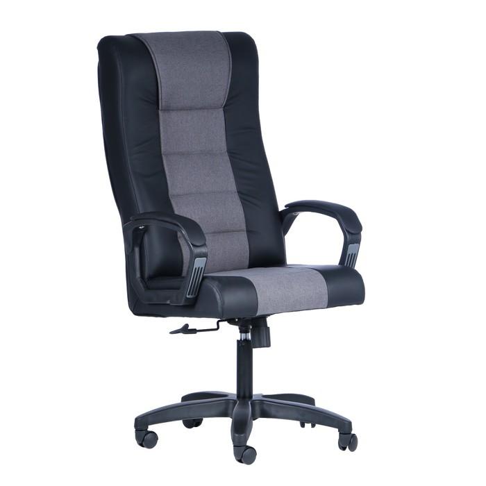 """Кресло руководителя """"Стаффорд"""", экокожа, черный МК-060"""