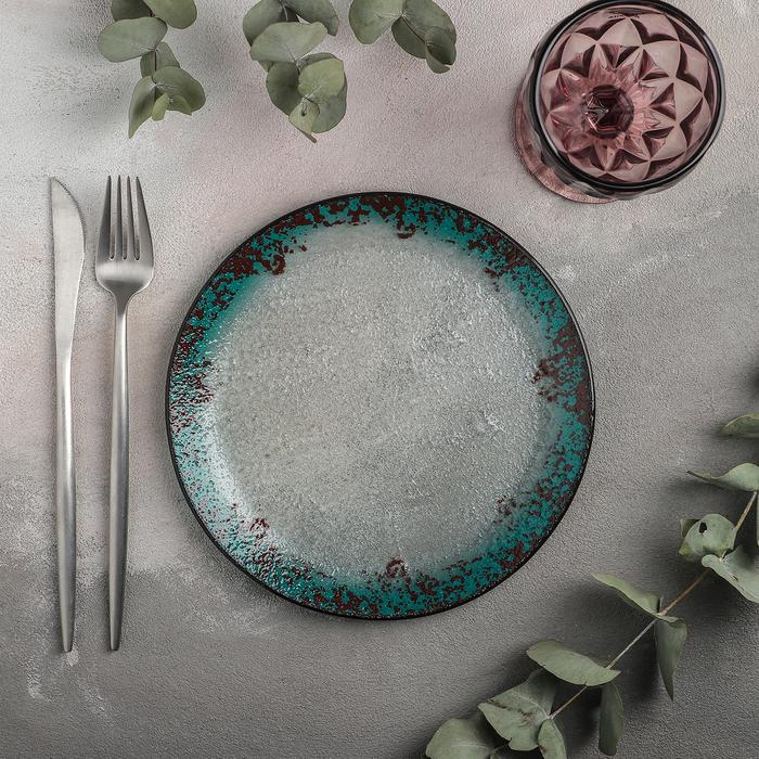 Тарелка десертная «Градиент», d=20 см - фото 202549
