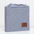 Постельное бельё Этель «Полоски» евро 200х220 см, 240х220 см, 50х70 см-2шт - фото 639281