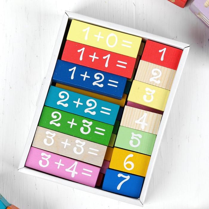 Логический набор «Решаем» 36 деталей, примеры