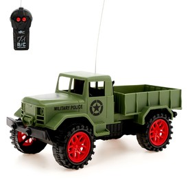 "RC truck ""Military"", battery powered, MIX"