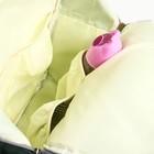 Сумка-рюкзак для хранения вещей малыша, цвет бирюзовый - фото 105542838