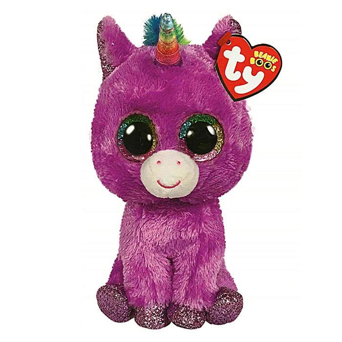 Мягкая игрушка «Единорог Rosette» розовый, 15 см