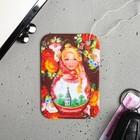 "Flavor paper ""Krasnoyarsk. Matryoshka"", 8 x 15.3 cm"