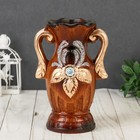 "Vase ceramics table ""Druid"" 8,5*20 cm forest flower (2 types)"