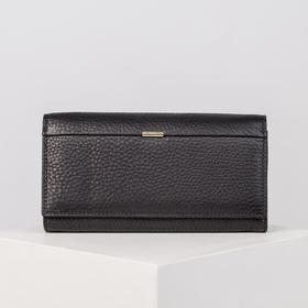Wallet wives 04-01-01, 18 * 2 * 10, 2otd frame, 3otd, d / maps on the flap, black