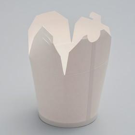 Контейнер для лапши «ВОК», белая, 0,75 л