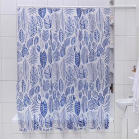 Штора для ванной комнаты Доляна «Волшебный лес», 180×180 см, EVA