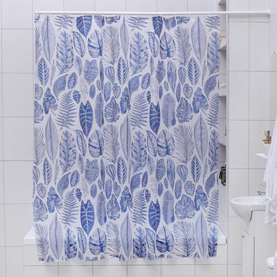 """Штора для ванной """"Волшебный лес"""", 180х180 см, EVA"""