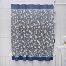 """Штора для ванной """"Нил"""", 180х180 см, EVA"""