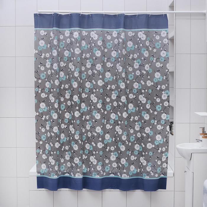 """Blind for the bathroom """"Neil"""", 180х180 cm, EVA"""