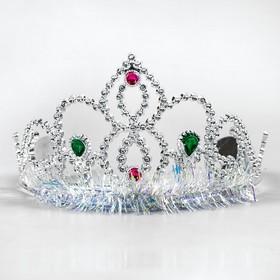Корона 'Леди', цвет серебро Ош