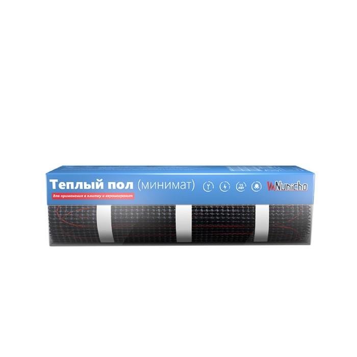 Тёплый пол Nunicho, нагревательный мат, 75 Вт.,  0.5 м2, двухжильный, плитка/керамогранит