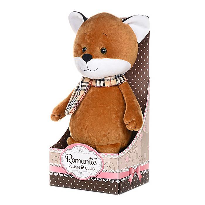 Мягкая игрушка «Романтичный Лисенок в Шарфике» 20 см - фото 105610615