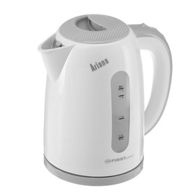 Чайник электрический FIRST 5427-2-GR, 2200 Вт, 1.7 л, бело-серый