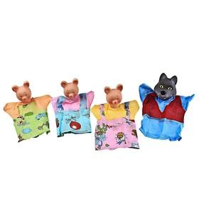 Кукольный театр «Три поросёнка» 4 персонажа