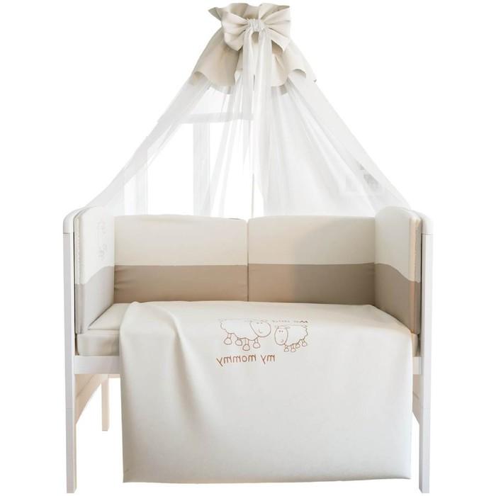 Комплект в кроватку «Я и моя мама», 7 предметов