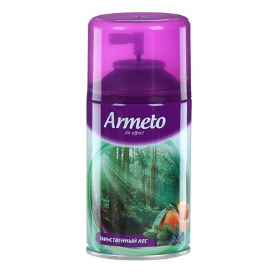 """Освежитель воздуха Armeto """"Таинственный лес"""", сменный балон, 250 мл"""