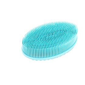 Щетка массажная для тела Bradex «Актиния», цвет голубой