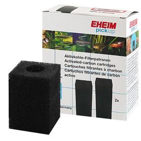 Картридж для фильтра EHEIM PICKUP 160 поролон угольный, 2 шт/уп