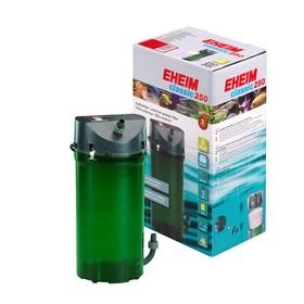 Фильтр внешний EHEIM CLASSIC 250 краны, губки + био наполнитель
