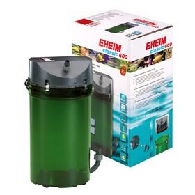 Фильтр внешний EHEIM CLASSIC 600 краны, губки + био наполнитель