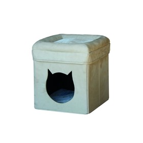 Домик NOBBY MARA  для кошек, бежевый,  39 х 39 х 42 см