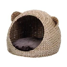 Домик NOBBY TAKLA  для кошек, светло-коричневый,  40 х 40 х 33 см