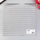 Ацетатный лист WRMK - Stripe Silver