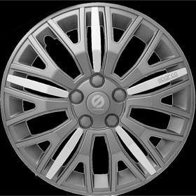 """Колпаки на колёса """"Sparco"""", серия """"Xtraleggera"""", R 13, набор 4 шт сер./сер./серебро"""