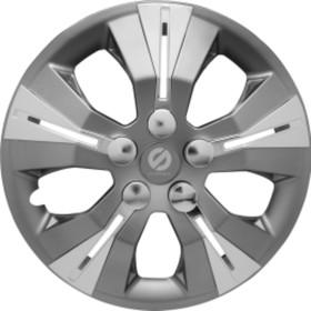 "Колпаки на колёса ""Sparco"", серия ""Urban"", R 13, набор 4 шт сер./серебро"