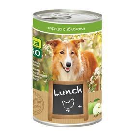 Влажный корм VitaPro LUNCH для собак, курица/яблоки, ж/б, 400 г