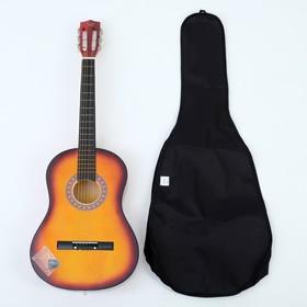 Набор для начинающего гитариста, санберст: классическая гитара, чехол, струны