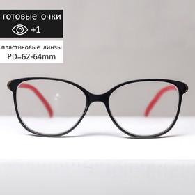 Glasses corrective FM 382 C1, color red-black +1