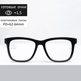 Corrective Melorsh 017 glasses, black, +1,5