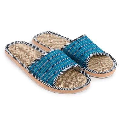 """Slippers mens ONLITOP """"Cage"""", color blue, size 40-41"""