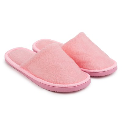 "Slippers womens ONLITOP ""Home"", color pink, size 36-37"