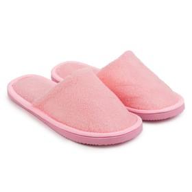 Тапочки женские ONLITOP «Домашние», цвет розовый, размер 40-41 (реальный размер 37-38) Ош