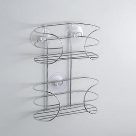 Shelf on suction cups 18x7x23.2 cm