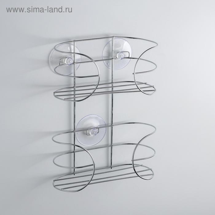 Shelf on suction cups 18х7х23,2 cm