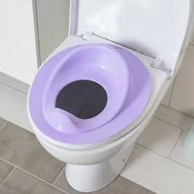 Накладка на унитаз, цвет фиолетовый