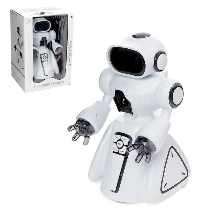 Робот «Умный бот», русское озвучивание, световые эффекты, работает от батареек - фото 105508307