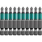 """Биты KRAFTOOL Optimum Line 26122-1-50-10, Е 1/4"""", 50 мм, 10 шт., PH1"""